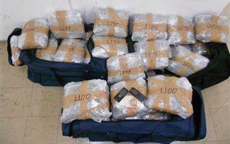 Κατασχέθηκαν 198 κιλά χασίς στα Γιάννενα