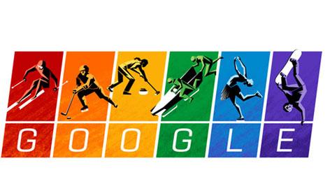 Google: Στους ομοφυλόφυλους αφιερώνει το doodle για το Σότσι