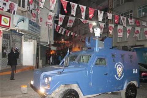 Κωνσταντινούπολη: Πυρά και μολότοφ σε γραφεία του Εθνικιστικού Κόμματος