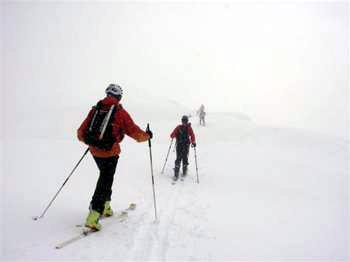 Διεθνής αγώνας ορειβατικού σκι στον Όλυμπο