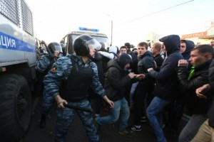 Ρωσία: Τουλάχιστον 23 συλλήψεις σε διαδηλώσεις κατά των Ολυμπιακών