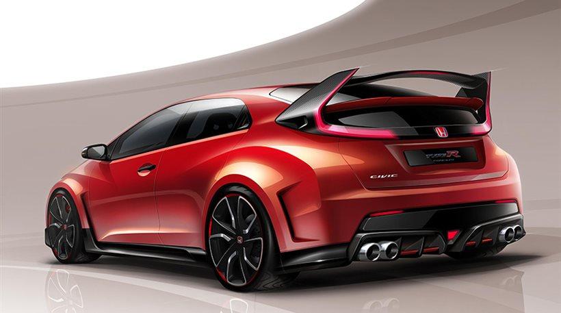 Έρχεται το νέο Honda Type R