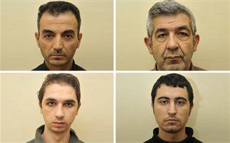 Αυτοί είναι οι τέσσερις Κούρδοι που συνελήφθησαν για τρομοκρατία