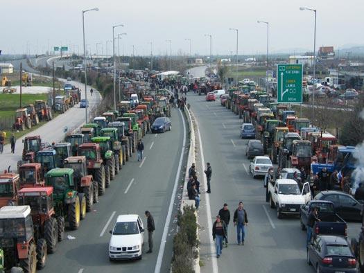 Νέο συλλαλητήριο αγροτών την Κυριακή στο μπλόκο της Νίκαιας