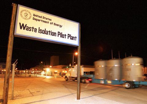 ΗΠΑ: Ραδιενέργεια σε εγκατάσταση αποθήκευσης πυρηνικών αποβλήτων