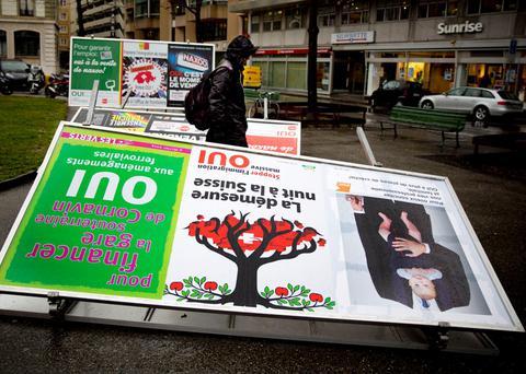 «Παγώνει» η ΕΕ τις συνομιλίες με την Ελβετία μετά το δημοψήφισμα