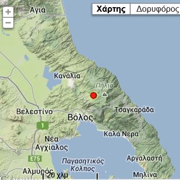 Σεισμός μεγέθους 2,2  βαθμών