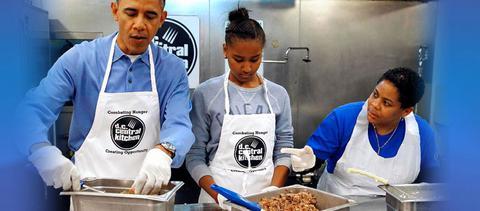 Τα καρύδια του Ομπάμα και το χάμπουργκερ του Κλίντον