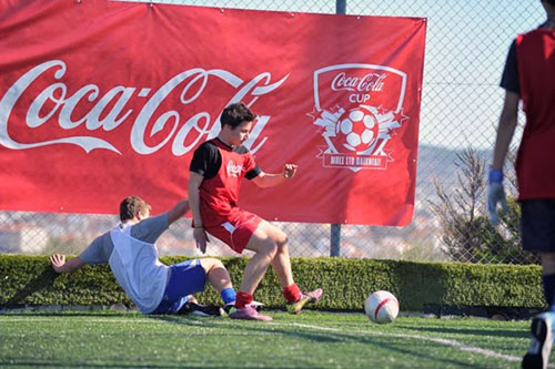 Το Σαββατοκύριακο στο Βόλο το Coca - Cola Cup