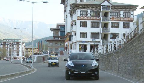Μηδενική ρύπανση με ηλεκτρικό αυτοκίνητο ο στόχος του Μπουτάν