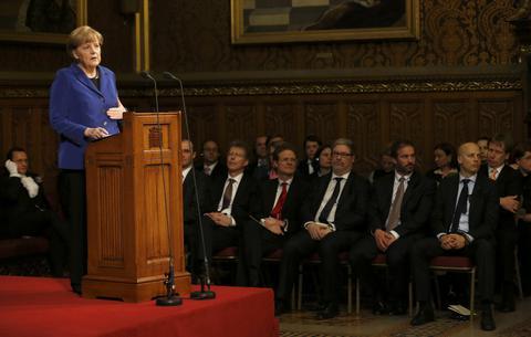 Μέρκελ: Θα απογοητεύσω όσους περιμένουν αλλαγές σε συνθήκες της ΕΕ