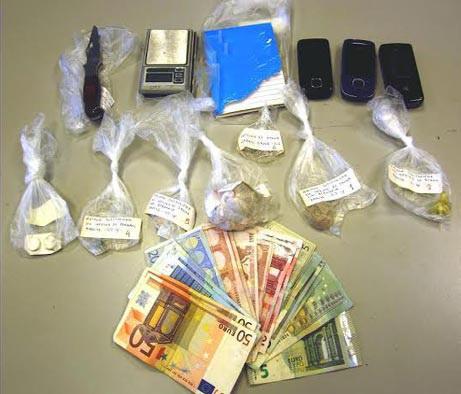 Λάρισα: Συνελήφθησαν τρία άτομα για διακίνηση ναρκωτικών