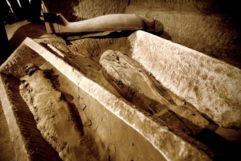 Ανακαλύφθηκε το αρχαιότερο τυρί στον κόσμο σε τάφο μούμιας