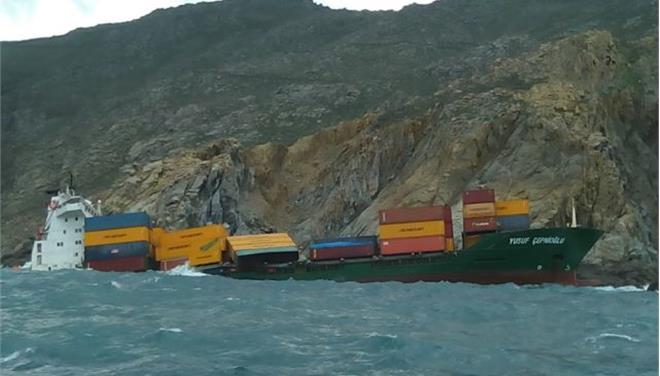 Μικρής έκτασης ρύπανση από την προσάραξη τουρκικού πλοίου βόρεια της Μυκόνου