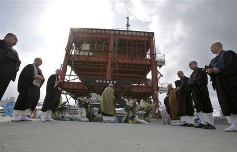 Ενός λεπτού σιγή για τα θύματα του σεισμού και της Φουκουσίμα