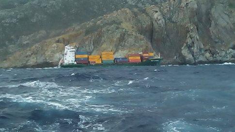 Ξεκινά η απάντληση των καυσίμων από το πλοίο που προσάραξε στη Μύκονο
