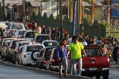 Ισχυρός σεισμός 6,7 βαθμών σημειώθηκε στη βόρεια Χιλή
