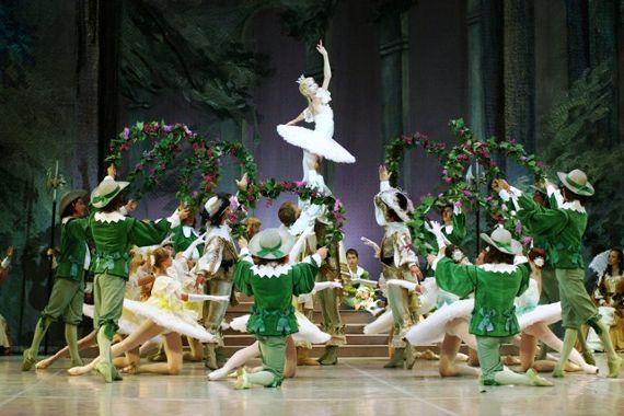 Παράσταση μπαλέτου «Ωραία κοιμωμένη»