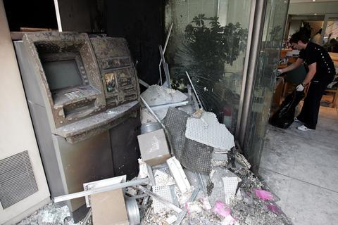 Εμπρηστικές επιθέσεις σε ΑΤΜ στην Πάτρα
