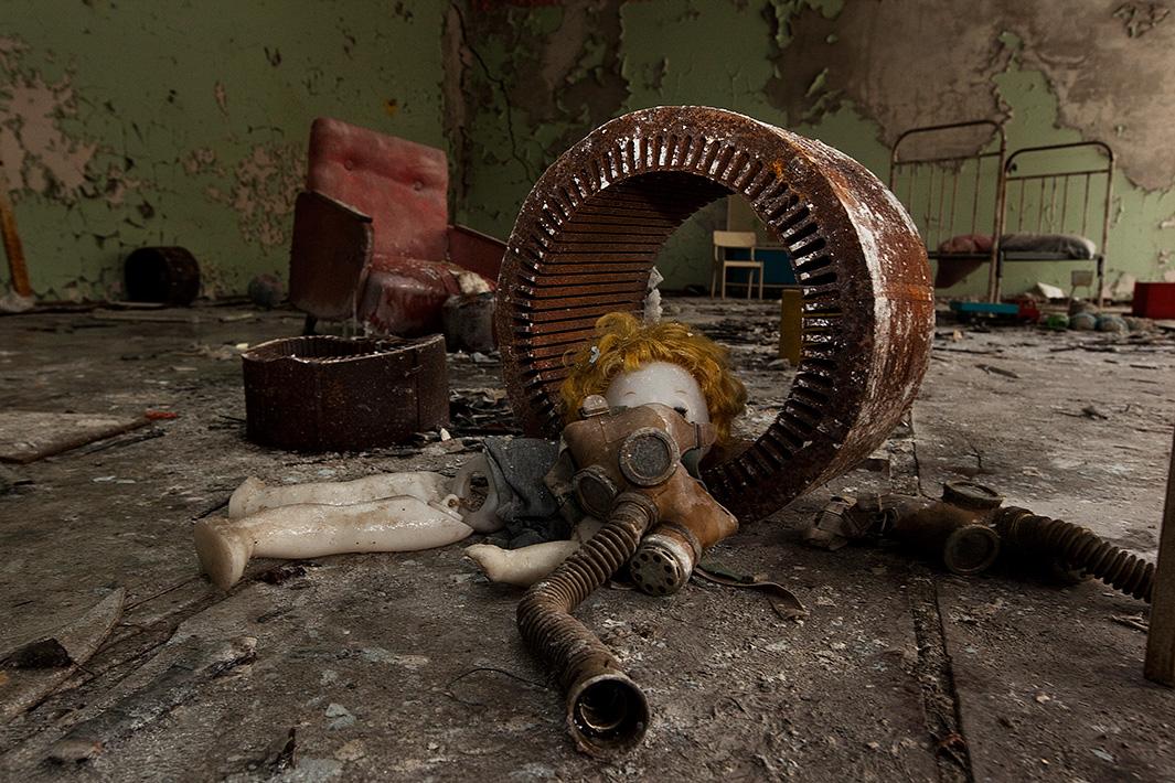 Η πόλη-φάντασμα του Τσερνόμπιλ -Ενα φωτογραφικό οδοιπορικό 28χρόνια μετά το πυρηνικό ατύχημα [εικόνες]