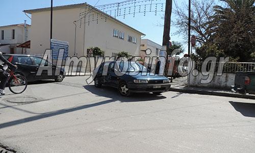 Αλμυρός: Τροχαίο ατύχημα: Τυχερός Αλμυριώτης μοτοσυκλετιστής