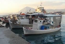 Αλιευτικό σκάφος τυλίχτηκε στις φλόγες