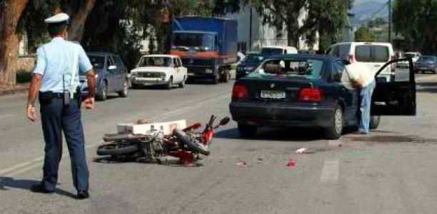 Τραυματίστηκε σοβαρά σε τροχαίο 20χρονος Λαρισαίος