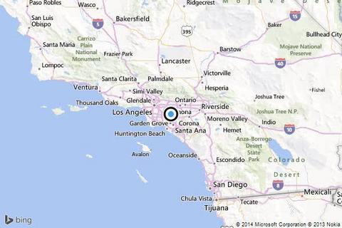 Σεισμός 5,1 Ρίχτερ στο Λος Αντζελες