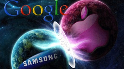Μήλο της έριδος η Google για Apple και Samsung
