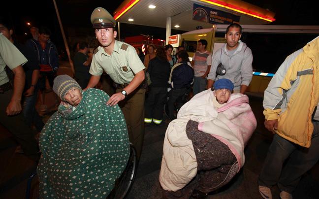 Σεισμός με πέντε νεκρούς στη Χιλή και τσουνάμι δύο μέτρων