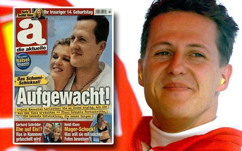 Οργισμένοι οι θαυμαστές του Σουμάχερ με εξώφυλλο γερμανικού περιοδικού