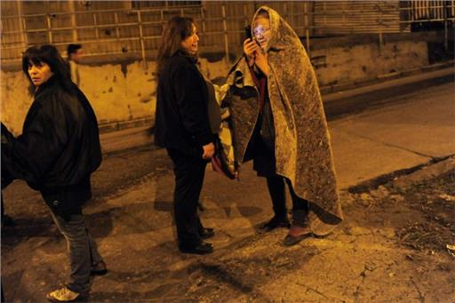 Επιστρέφουν στα σπίτια τους οι κάτοικοι των παράκτιων περιοχών της Χιλής