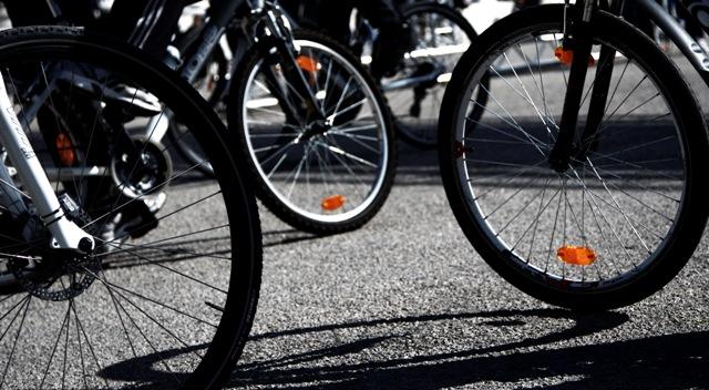 Ποδηλατο - διαμαρτυρία στο Βόλο
