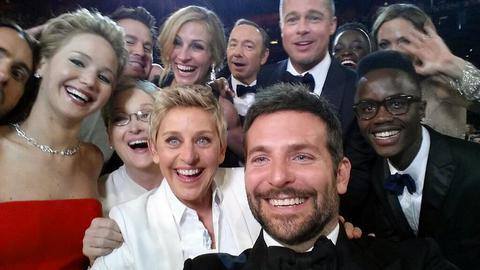 Ενα δισ. δολάρια η αξία της οσκαρικής selfie