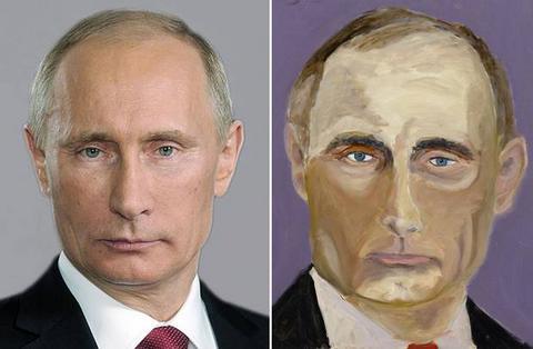 Αντιγραφή από τις φωτογραφίες του Google οι πίνακες του Τζορτζ Μπους;