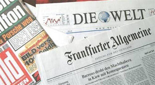 Επίσκεψη Μέρκελ και έκδοση ομολόγου κυρίαρχα σε γερμανικό Τύπο