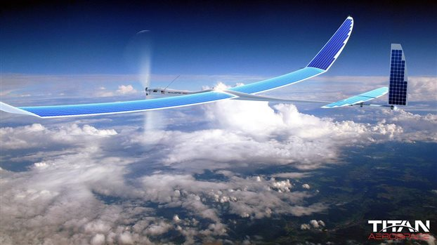 Στα χέρια της Google η εταιρεία κατασκευής drone Titan Aerospace