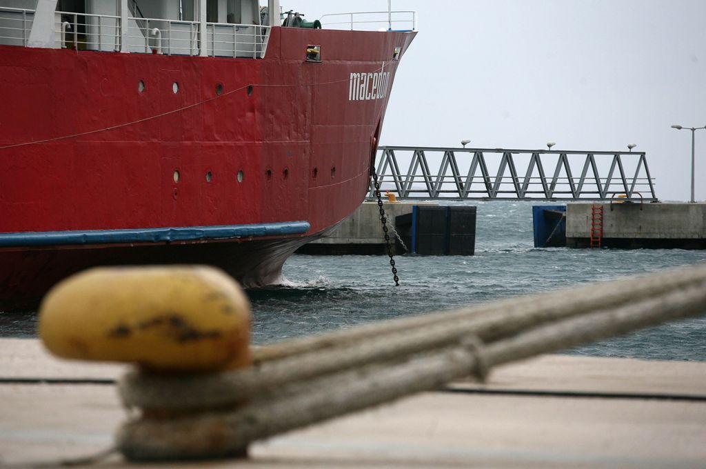 Απαγόρευση απόπλου για φορτηγό πλοίο