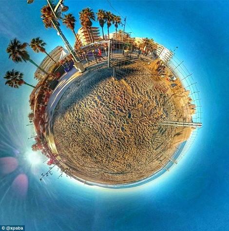 Μαγευτικές φωτογραφίες 360 μοιρών που θυμίζουν παραδεισένιους πλανήτες [εικόνες]