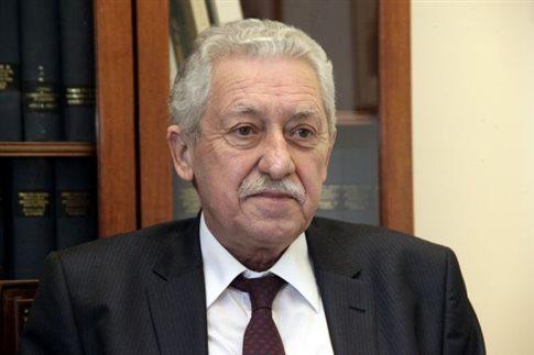 Κουβέλης: Η συνάντηση με τον Παπανδρέου δεν κρύβει τίποτα από κάτω