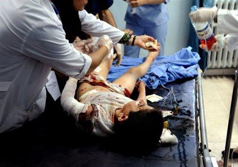 Αιματηρή επίθεση με νεκρούς μαθητές σε σχολείο της Δαμασκού