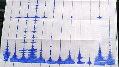 Σεισμός 4,8 βαθμών ανατολικά της Άνδρου