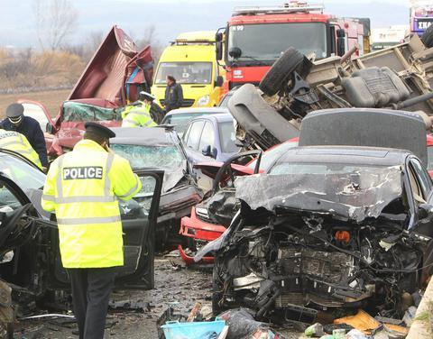 Αύξηση 9,4% σημείωσαν το Φεβρουάριο τα οδικά τροχαία δυστυχήματα