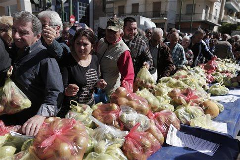 Αποτέλεσμα εικόνας για Δωρεάν διανομή τροφίμων σε άπορους