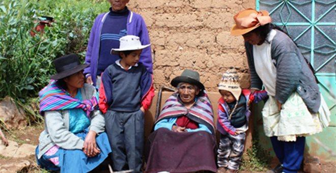 Υπεραιωνόβια στο Περού πήρε σύνταξη στα... 116