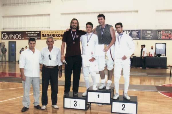 Κύπελλο ξιφασκίας Αργοναύτες ...έγινε με επιτυχία στο Βόλο