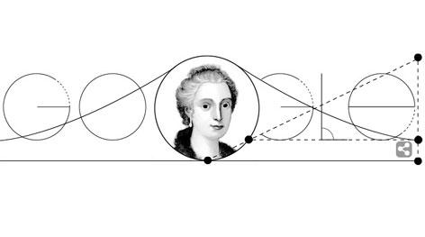 Στο Doodle της Google η μαθηματικός Maria Gaetana Agnesi