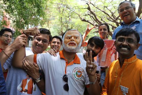 Ινδία: Αυτοδυναμία για το ινδουιστικό εθνικιστικό κόμμα
