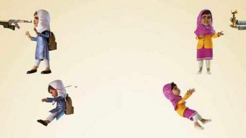 Αιμόφυρτη η Πακιστανή Μαλάλα «πρωταγωνιστεί» σε διαφήμιση στρώματος