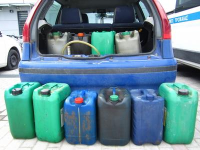 Τριαντατετράχρονος ...ρουφούσε βενζίνη λεωφορείου στη Λάρισα
